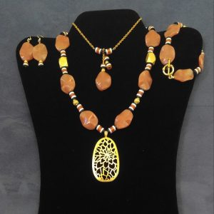 Agate and Dzi Beads